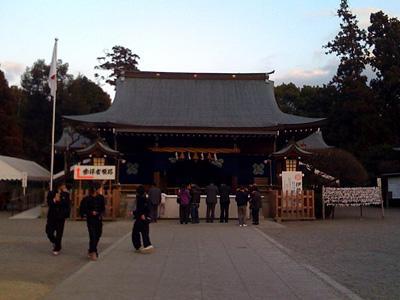 健軍神社へ初詣