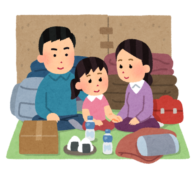 hinanjo_seikatsu_family_smile